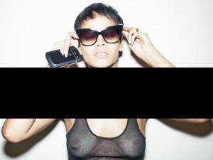 Rihanna nackt durchsichtig