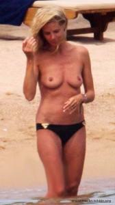 Heidi Klum nackt und oben ohne
