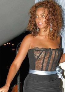 beyonce knowles oben ohne